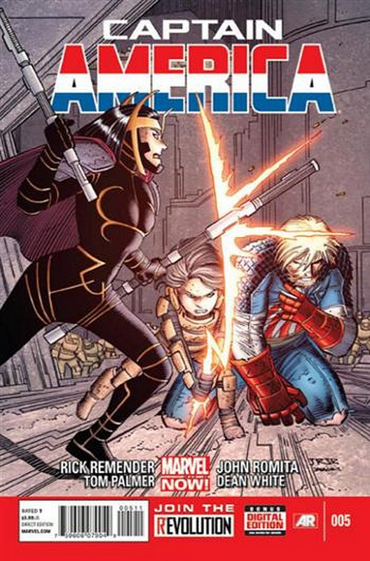 Cover of Captain America (Vol 7) #5. One of 250,000 Vintage American Comics on sale from Krypton!