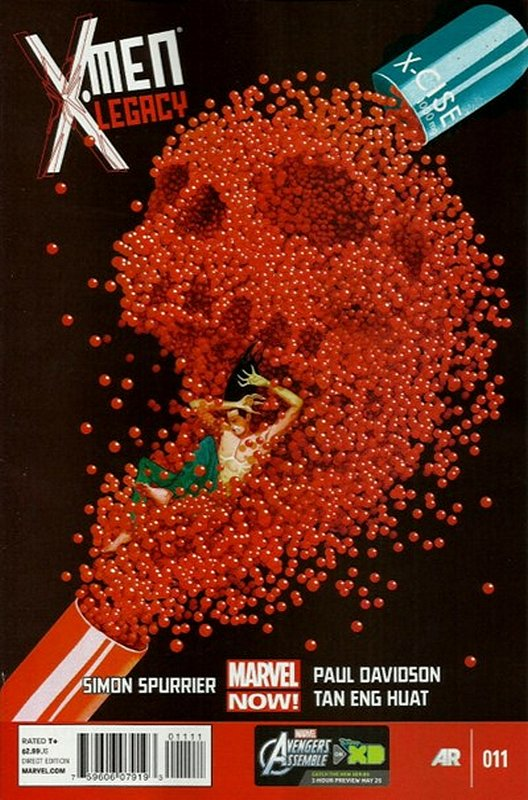 Cover of X-Men (Legacy) (Vol 2) #11. One of 250,000 Vintage American Comics on sale from Krypton!