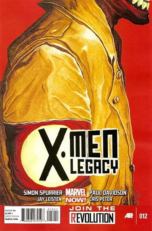 Cover of X-Men (Legacy) (Vol 2) #12. One of 250,000 Vintage American Comics on sale from Krypton!
