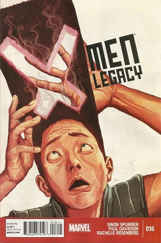 Cover of X-Men (Legacy) (Vol 2) #16. One of 250,000 Vintage American Comics on sale from Krypton!