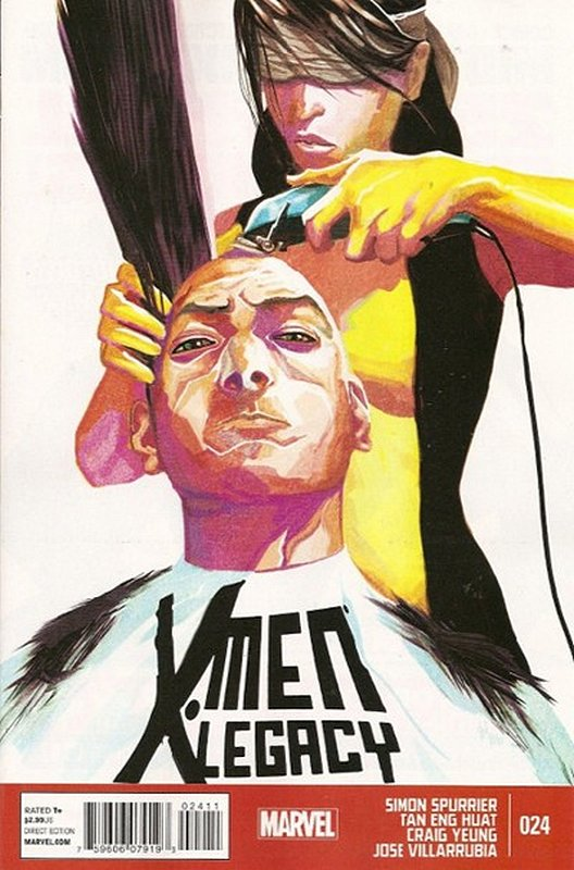 Cover of X-Men (Legacy) (Vol 2) #24. One of 250,000 Vintage American Comics on sale from Krypton!