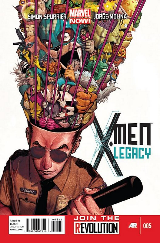 Cover of X-Men (Legacy) (Vol 2) #5. One of 250,000 Vintage American Comics on sale from Krypton!