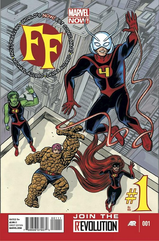 Cover of FF, The (Vol 2) #1. One of 250,000 Vintage American Comics on sale from Krypton!
