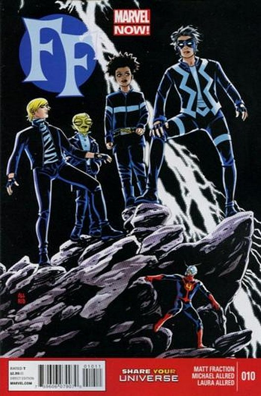 Cover of FF, The (Vol 2) #10. One of 250,000 Vintage American Comics on sale from Krypton!