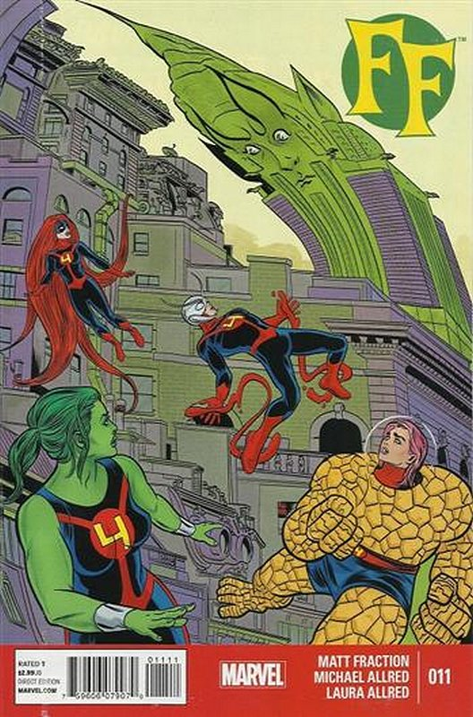 Cover of FF, The (Vol 2) #11. One of 250,000 Vintage American Comics on sale from Krypton!