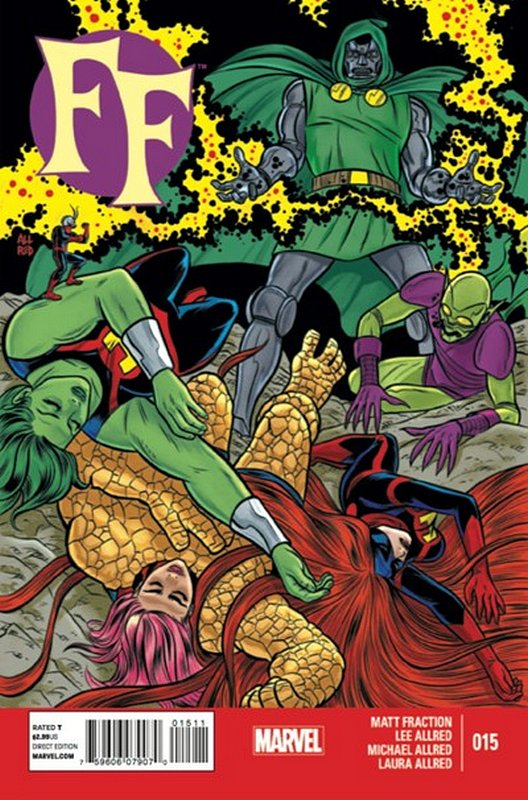 Cover of FF, The (Vol 2) #15. One of 250,000 Vintage American Comics on sale from Krypton!