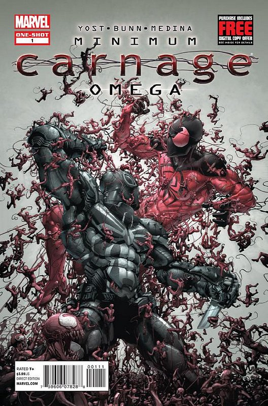 Cover of Minimum Carnage: Omega (2012 One Shot) #1. One of 250,000 Vintage American Comics on sale from Krypton!