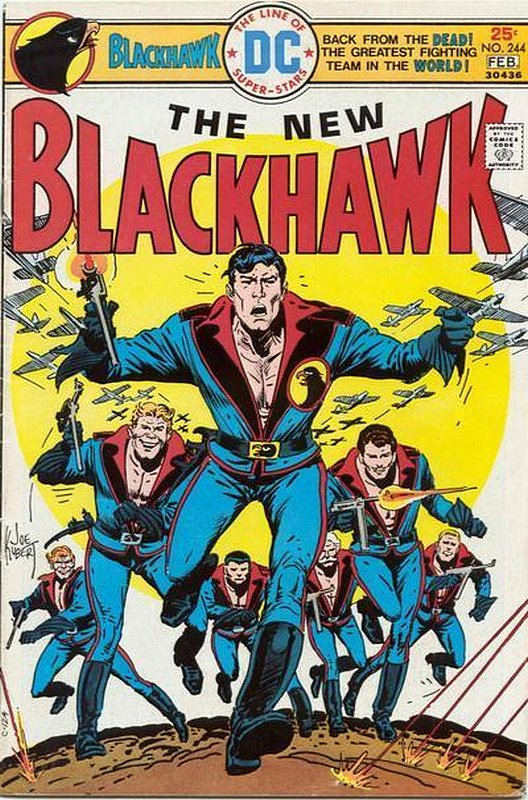 Cover of Blackhawk (Vol 1) #244. One of 250,000 Vintage American Comics on sale from Krypton!