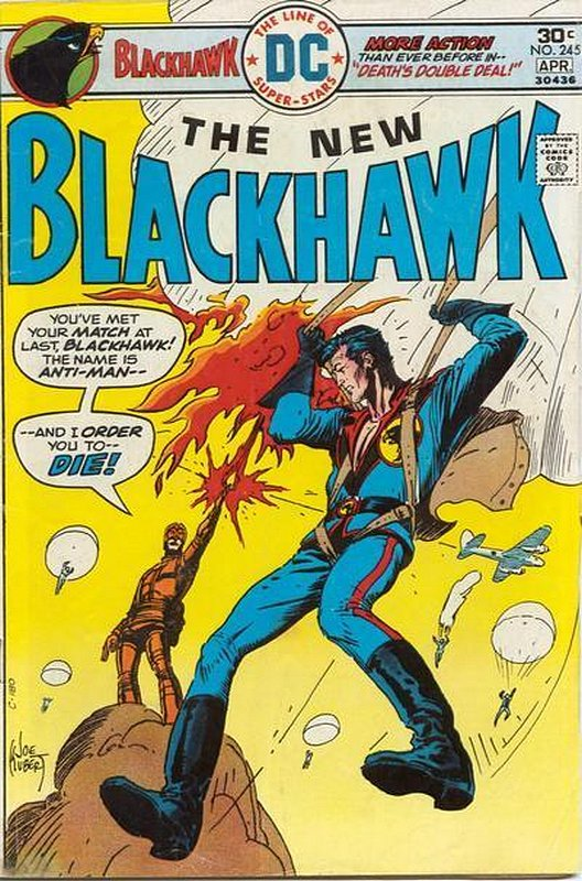 Cover of Blackhawk (Vol 1) #245. One of 250,000 Vintage American Comics on sale from Krypton!