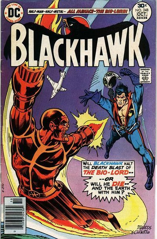 Cover of Blackhawk (Vol 1) #248. One of 250,000 Vintage American Comics on sale from Krypton!