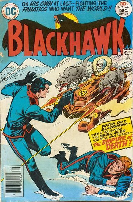 Cover of Blackhawk (Vol 1) #249. One of 250,000 Vintage American Comics on sale from Krypton!