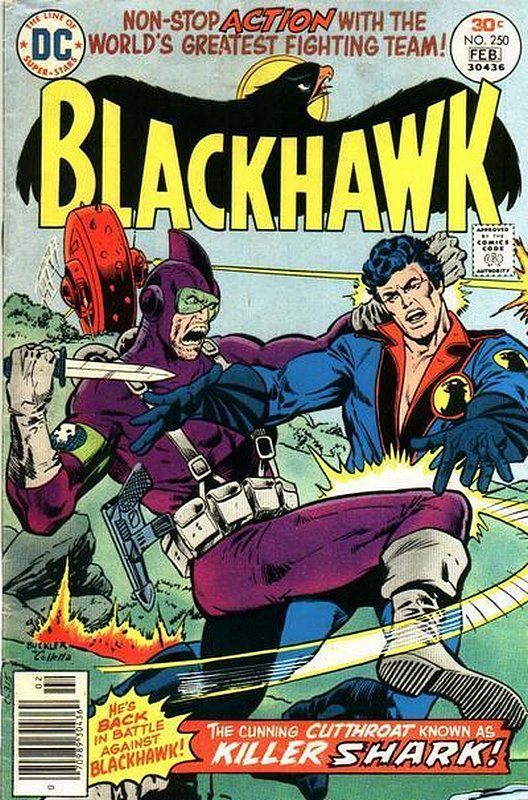 Cover of Blackhawk (Vol 1) #250. One of 250,000 Vintage American Comics on sale from Krypton!