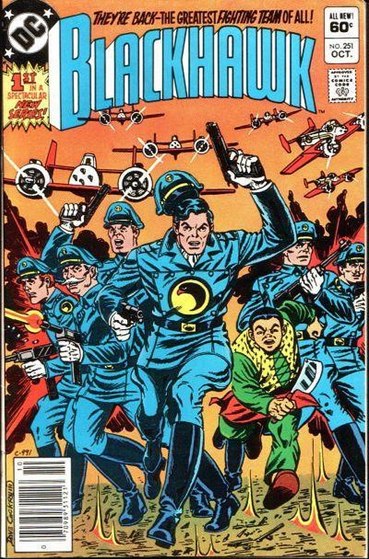 Cover of Blackhawk (Vol 1) #251. One of 250,000 Vintage American Comics on sale from Krypton!