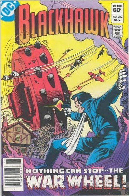 Cover of Blackhawk (Vol 1) #252. One of 250,000 Vintage American Comics on sale from Krypton!