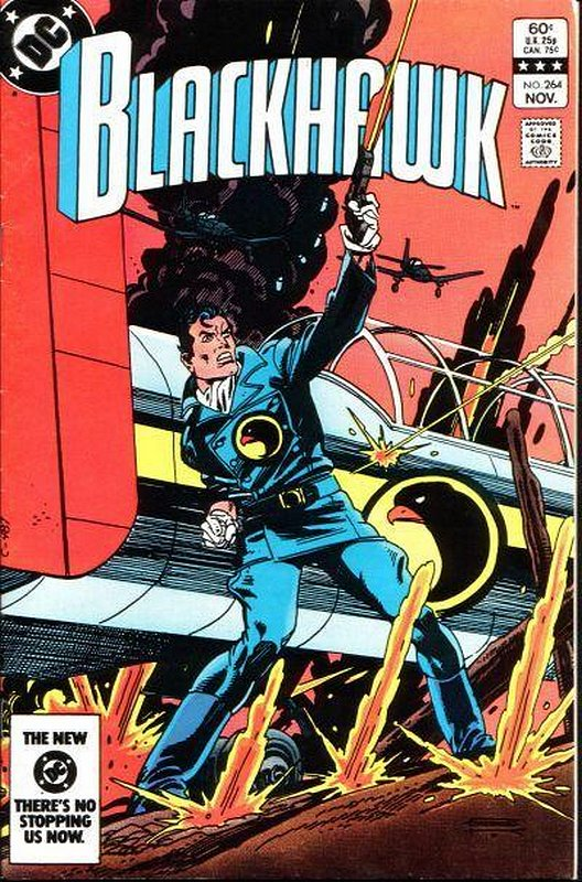 Cover of Blackhawk (Vol 1) #264. One of 250,000 Vintage American Comics on sale from Krypton!