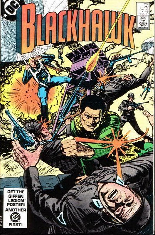 Cover of Blackhawk (Vol 1) #265. One of 250,000 Vintage American Comics on sale from Krypton!
