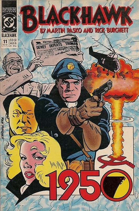 Cover of Blackhawk (Vol 2) #11. One of 250,000 Vintage American Comics on sale from Krypton!