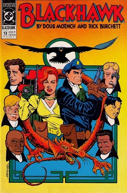 Cover of Blackhawk (Vol 2) #13. One of 250,000 Vintage American Comics on sale from Krypton!
