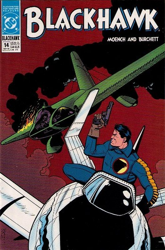 Cover of Blackhawk (Vol 2) #14. One of 250,000 Vintage American Comics on sale from Krypton!