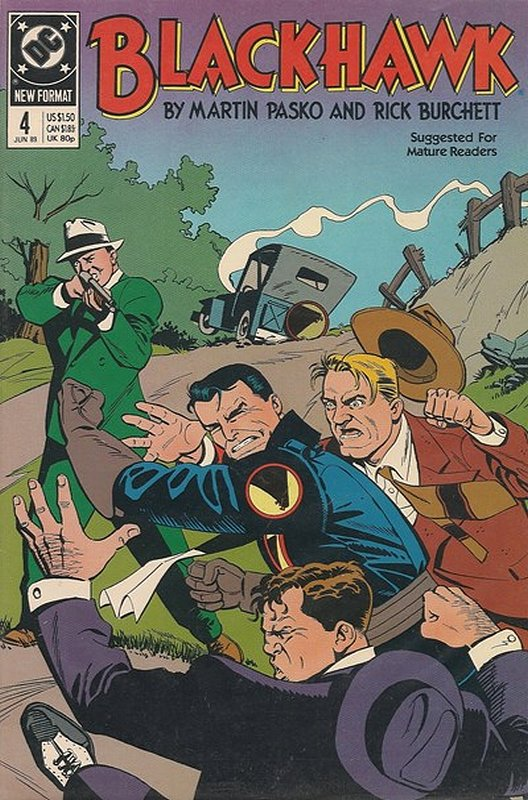 Cover of Blackhawk (Vol 2) #4. One of 250,000 Vintage American Comics on sale from Krypton!