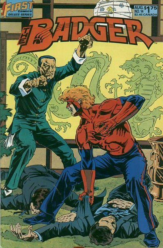 Cover of Badger (Vol 2) (First) #14. One of 250,000 Vintage American Comics on sale from Krypton!