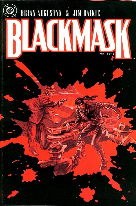 Cover of Blackmask (1993 Ltd) #1. One of 250,000 Vintage American Comics on sale from Krypton!