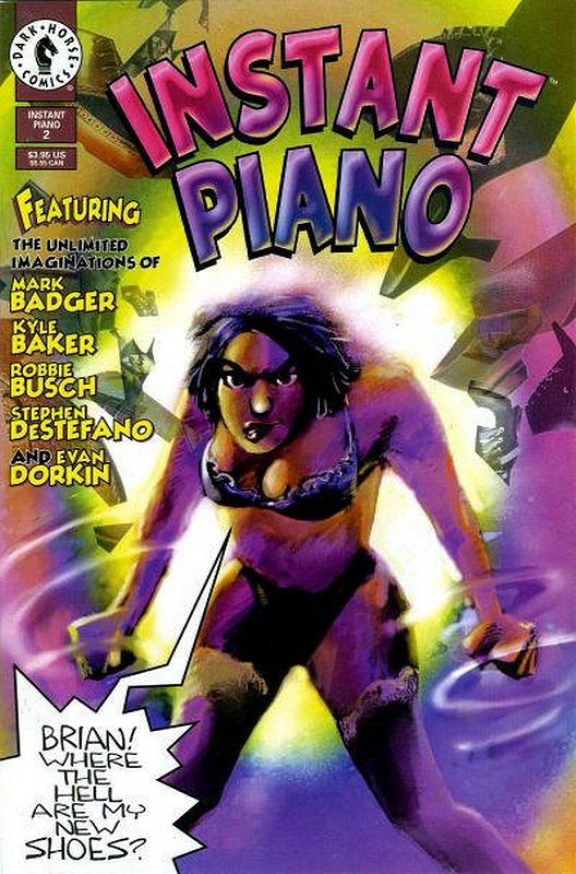 Cover of Instant Piano (1994 Ltd) #2. One of 250,000 Vintage American Comics on sale from Krypton!