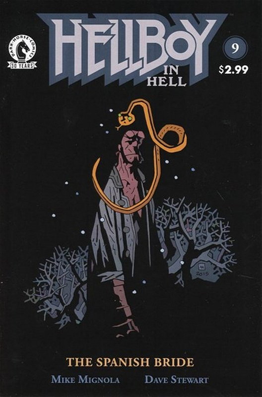 Cover of Hellboy in Hell (Vol 1) #9. One of 250,000 Vintage American Comics on sale from Krypton!