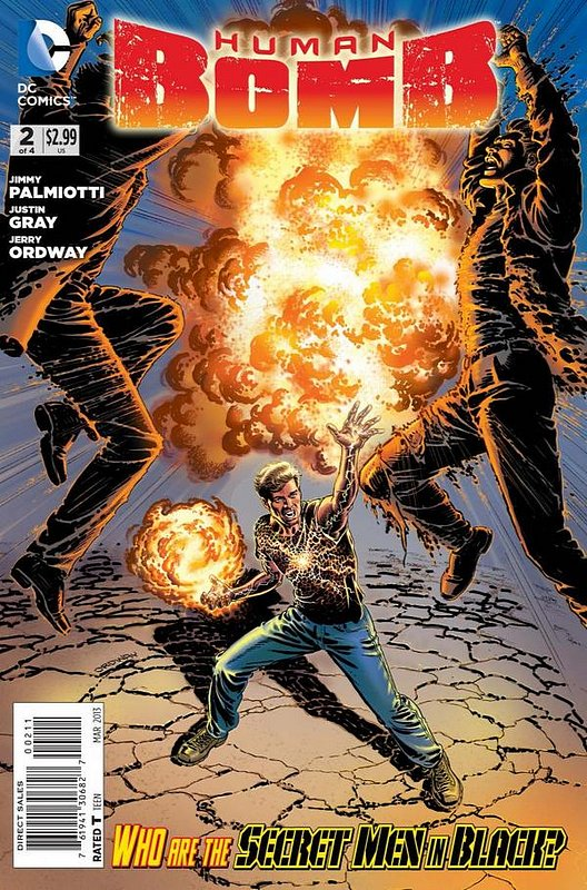 Cover of Human Bomb (2012 Ltd) #2. One of 250,000 Vintage American Comics on sale from Krypton!