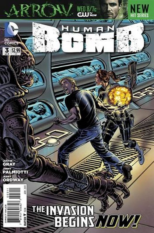 Cover of Human Bomb (2012 Ltd) #3. One of 250,000 Vintage American Comics on sale from Krypton!