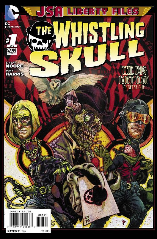 Cover of JSA: Liberty Files - Whistling Skull (2012 Ltd) #1. One of 250,000 Vintage American Comics on sale from Krypton!