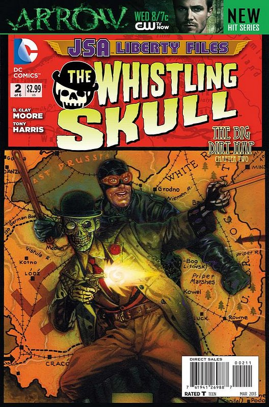 Cover of JSA: Liberty Files - Whistling Skull (2012 Ltd) #2. One of 250,000 Vintage American Comics on sale from Krypton!