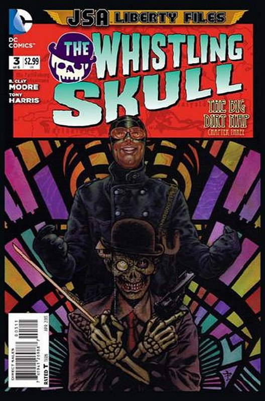 Cover of JSA: Liberty Files - Whistling Skull (2012 Ltd) #3. One of 250,000 Vintage American Comics on sale from Krypton!