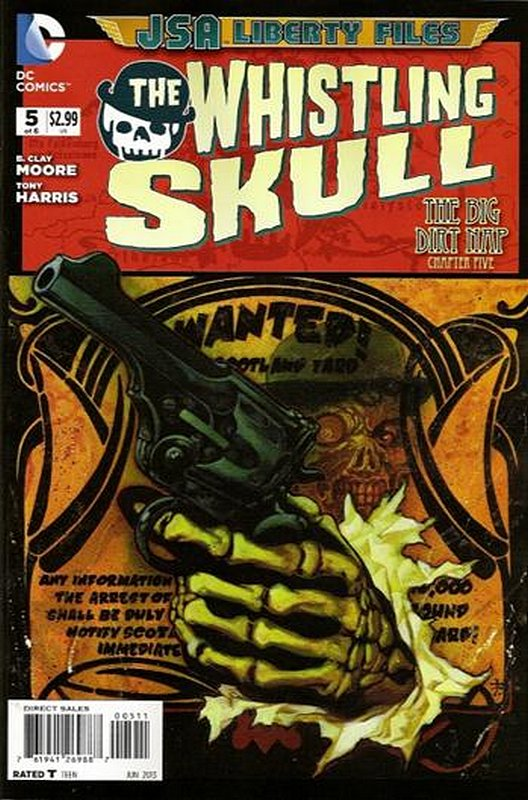 Cover of JSA: Liberty Files - Whistling Skull (2012 Ltd) #5. One of 250,000 Vintage American Comics on sale from Krypton!