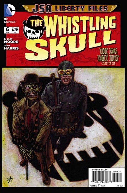 Cover of JSA: Liberty Files - Whistling Skull (2012 Ltd) #6. One of 250,000 Vintage American Comics on sale from Krypton!