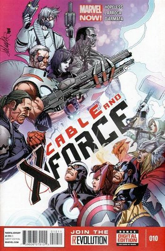 Cover of Cable & X-Force (Vol 1) #10. One of 250,000 Vintage American Comics on sale from Krypton!