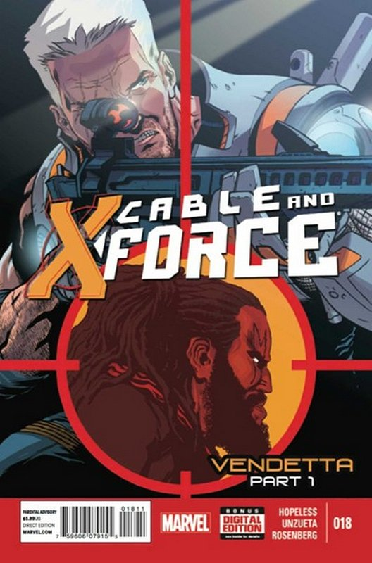 Cover of Cable & X-Force (Vol 1) #18. One of 250,000 Vintage American Comics on sale from Krypton!