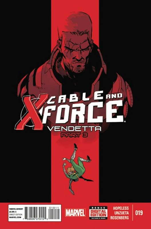 Cover of Cable & X-Force (Vol 1) #19. One of 250,000 Vintage American Comics on sale from Krypton!