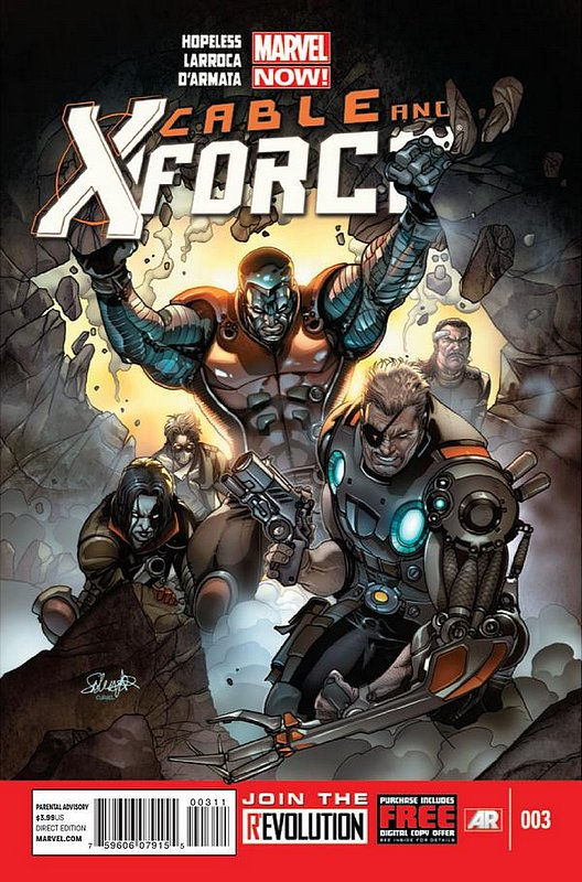 Cover of Cable & X-Force (Vol 1) #3. One of 250,000 Vintage American Comics on sale from Krypton!