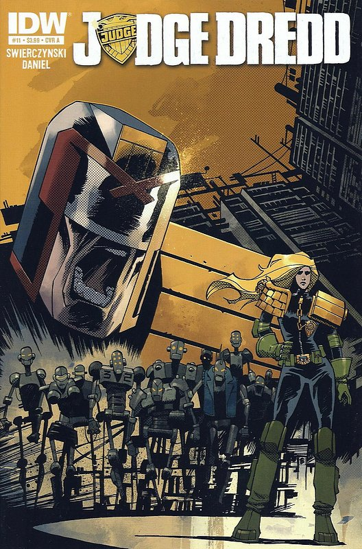Cover of Judge Dredd (IDW) (Vol 1) #11. One of 250,000 Vintage American Comics on sale from Krypton!