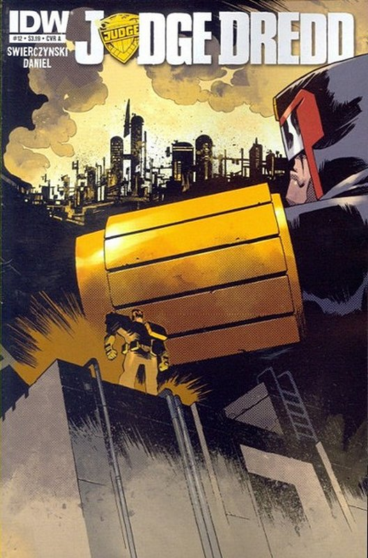Cover of Judge Dredd (IDW) (Vol 1) #12. One of 250,000 Vintage American Comics on sale from Krypton!