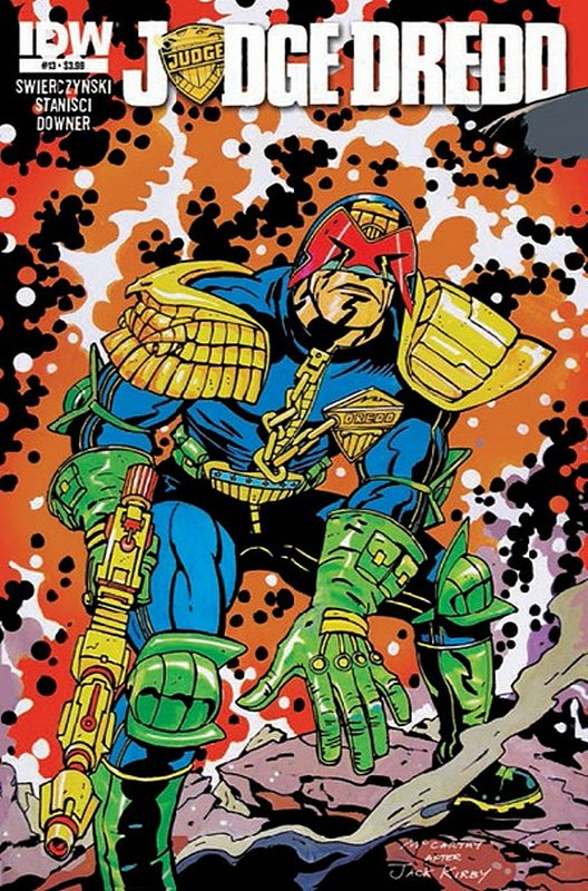 Cover of Judge Dredd (IDW) (Vol 1) #13. One of 250,000 Vintage American Comics on sale from Krypton!