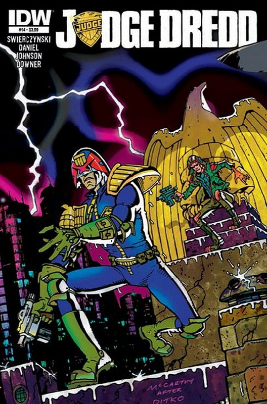 Cover of Judge Dredd (IDW) (Vol 1) #14. One of 250,000 Vintage American Comics on sale from Krypton!