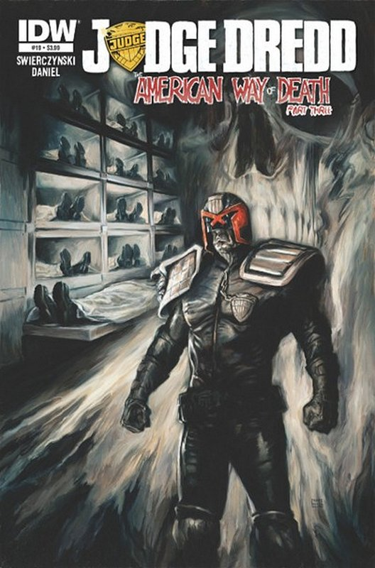 Cover of Judge Dredd (IDW) (Vol 1) #19. One of 250,000 Vintage American Comics on sale from Krypton!