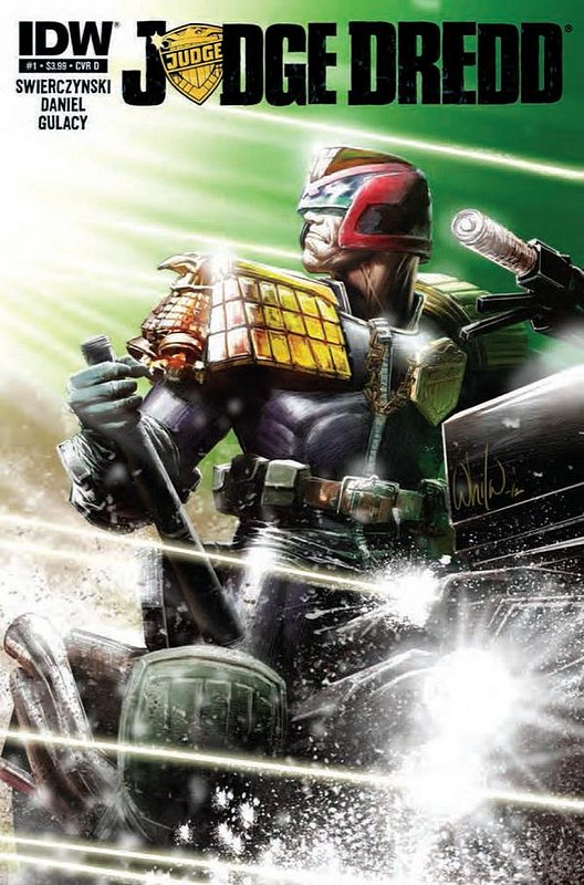 Cover of Judge Dredd (IDW) (Vol 1) #1. One of 250,000 Vintage American Comics on sale from Krypton!