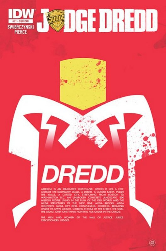 Cover of Judge Dredd (IDW) (Vol 1) #21. One of 250,000 Vintage American Comics on sale from Krypton!