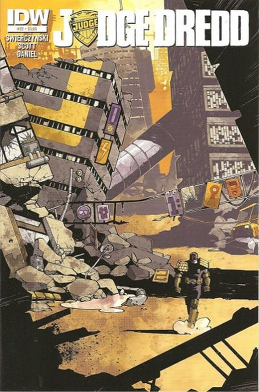Cover of Judge Dredd (IDW) (Vol 1) #22. One of 250,000 Vintage American Comics on sale from Krypton!