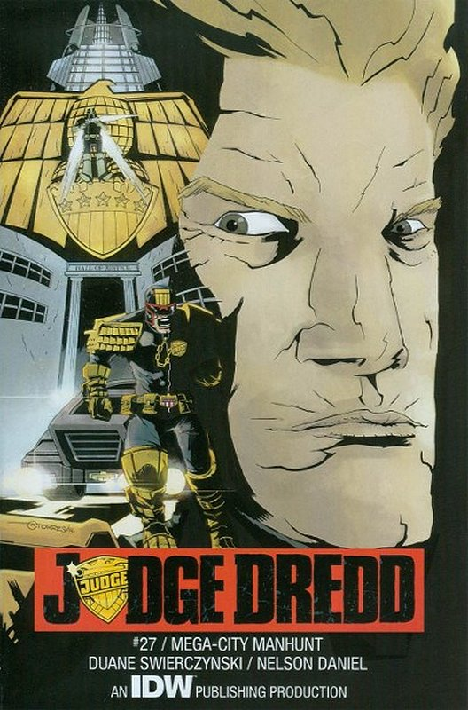 Cover of Judge Dredd (IDW) (Vol 1) #27. One of 250,000 Vintage American Comics on sale from Krypton!