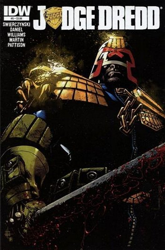 Cover of Judge Dredd (IDW) (Vol 1) #5. One of 250,000 Vintage American Comics on sale from Krypton!