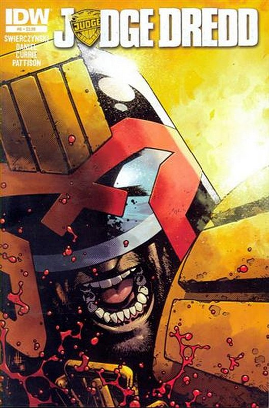 Cover of Judge Dredd (IDW) (Vol 1) #6. One of 250,000 Vintage American Comics on sale from Krypton!